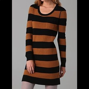 NWOT Madewell WALLACE Striped Sweater Dress sz S
